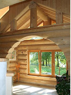 Внутренняя отделка деревянных домов.